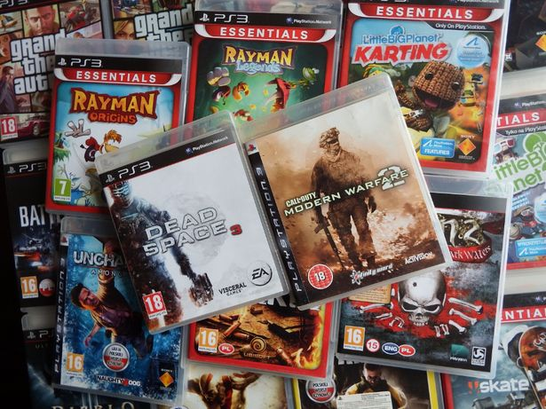 GRY PS3 Minecraft RAYMAN Call Of Duty Medal Of Honor rózne mega tytuły
