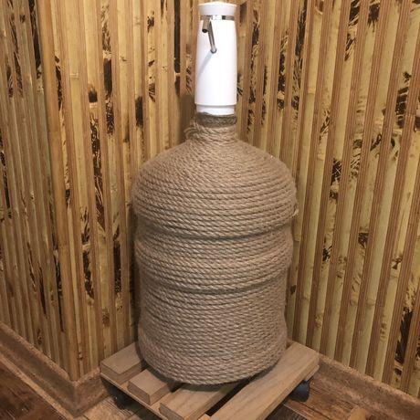 Бутыль 19 л, 18.9 л, бутиль, бутель, бутль для воды интерьерный декор