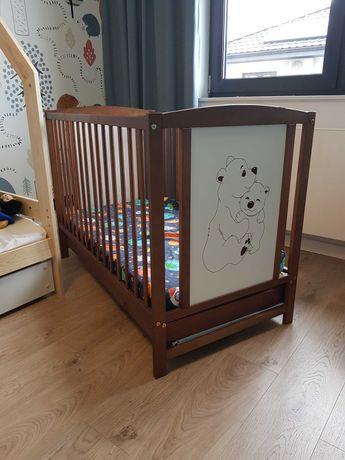 Łóżeczko dzieciece materac szuflada