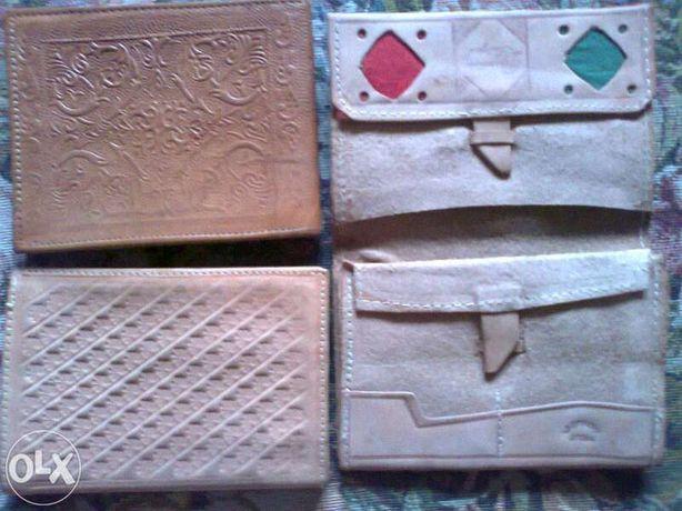 Carteiras e porta moedas em Pele - vintage