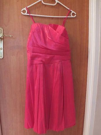 Śliczna różowa sukienka na wesele!