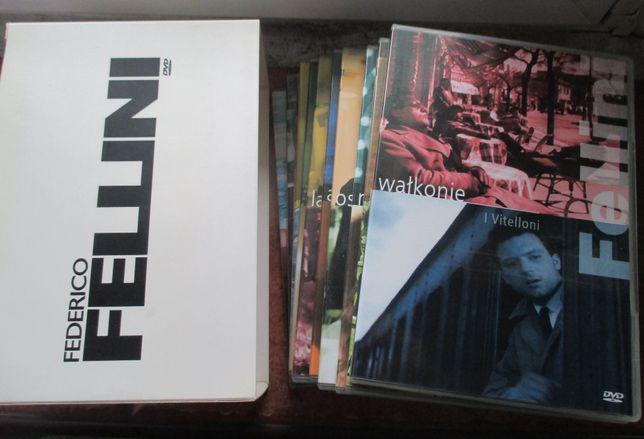 Federico Fellini box 11 filmów DVD