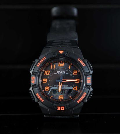 Relógio Casio solar