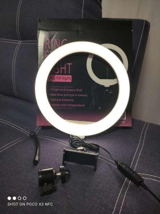 Кольцевая LED Лампа 26 см + штатив Киев - изображение 1