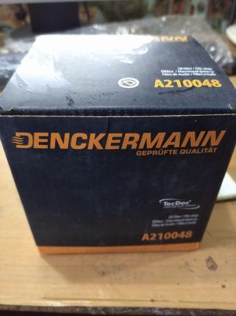 Масляный фильтр denckermann a210048 2 штуки.Бесплатная доставка.