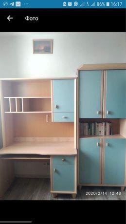 Мебель, шкаф, стол, полка, писменный стол, школьный компьютер