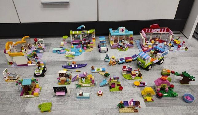 Lego frends duży zestaw,weterynarz ,konie