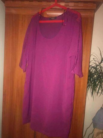 Sukienka z koronka rozm xl
