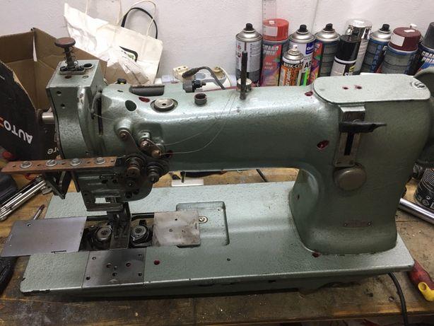 Máquina 2 agulhas duplo arrasto e corte Durkopp 238 n