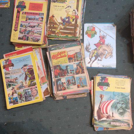 Lote de Revistas BD Cavaleiro Andante - Veja numeros