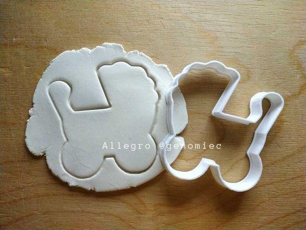 Foremka do ciastek BABY SHOWER CHRZEST wózek dziecięcy