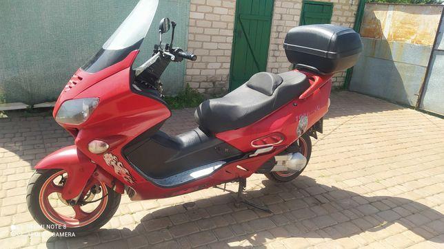 Макси Скутер mx 250s