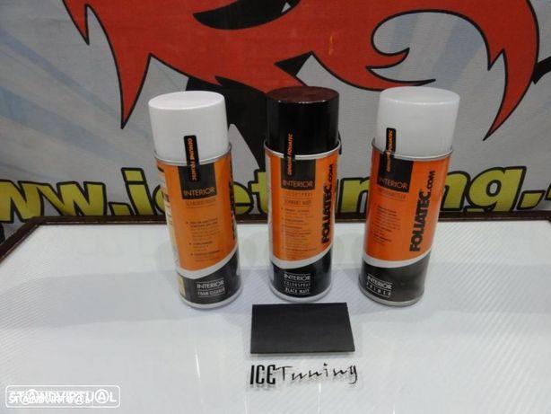 Spray reparação e pintura + limpeza + primario Preto Mate volantes e interior