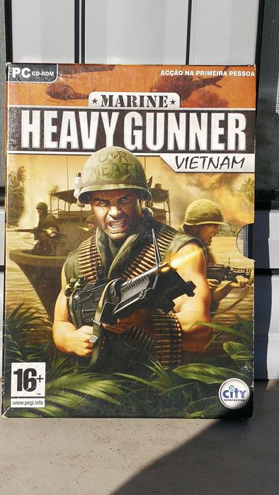 Jogo PC Heavy Gunner Vietnam Nossa Senhora de Fátima - imagem 1