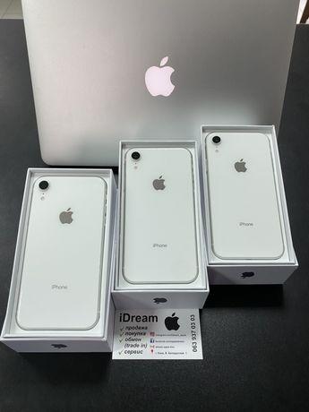 Apple iPhone Xr 128 gb White ИДЕАЛЫ ! ГАРАНТИЯ от МАГАЗИНА!!!