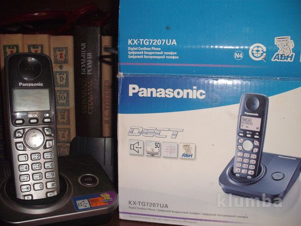 Продам телефон panasonic kx-tg7207ua