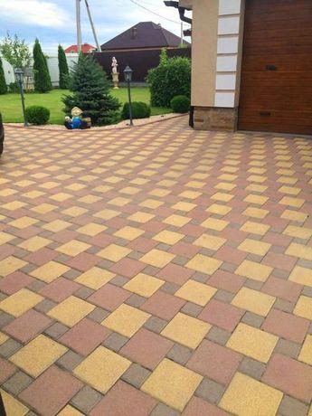 Плитка тротуарна, бруківка та бетонні вироби