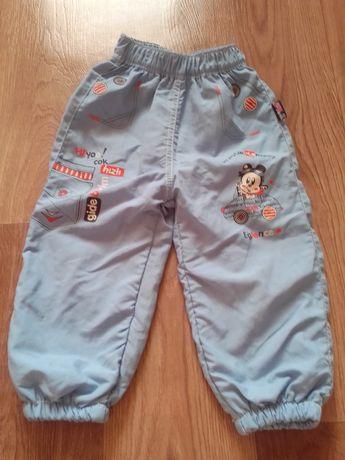Продам тёплые штаны на мальчика 1-2года