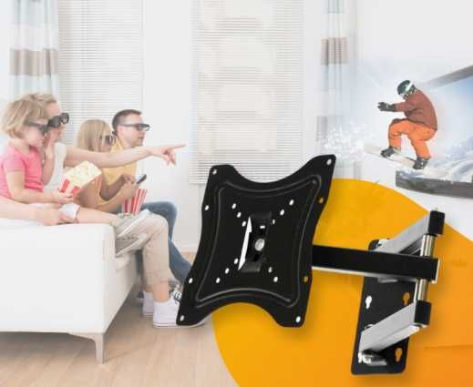 Поворотный кронштейн для телевизора на стену 14-42 117B