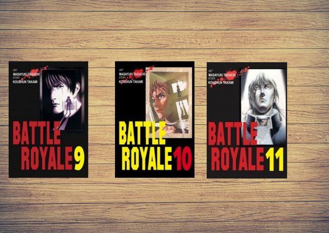 Battle royale manga tom 11