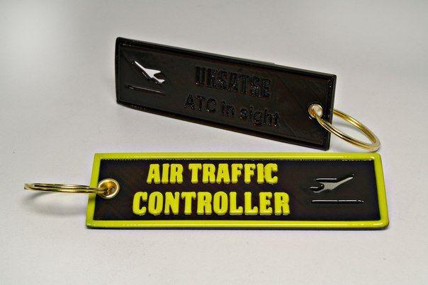 """Элитная пластиковая бирка """"Air Traffic Controller"""""""
