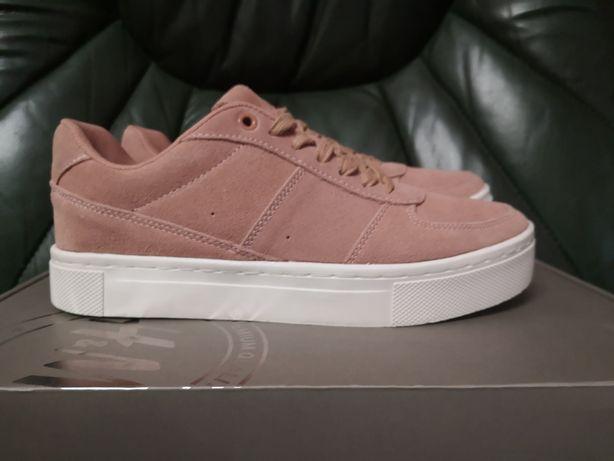 H&M кожаные кеды, кроссовки