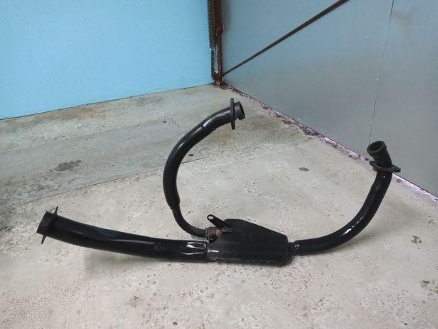 Hyosung gt 125 kolektor wydechowy, kolanka