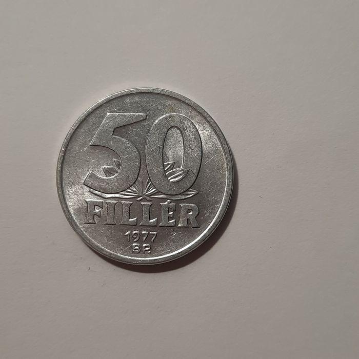 Zabytkowe monety węgierskie 50 fillér Nowy Sącz - image 1