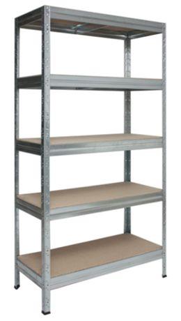 Regał metalowy magazynowy do piwnicy garażu 180x120x60cm 5 półek 875kg