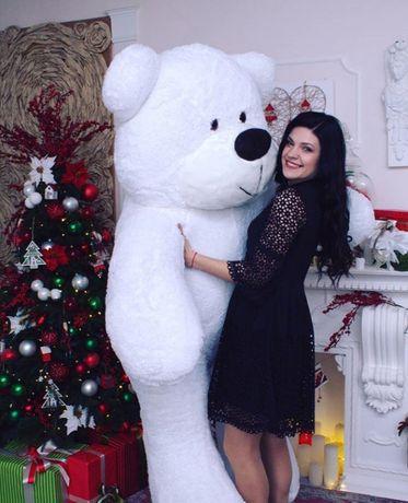 Великі плюшеві ведмедики(большие плюшевые мишки тедди)2м/троянди