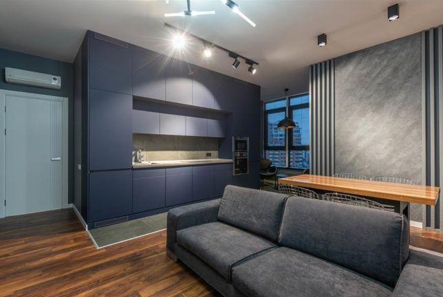 3-комнатная квартира (82м2) с дизайнерским ремонтом, ЖК Jack House
