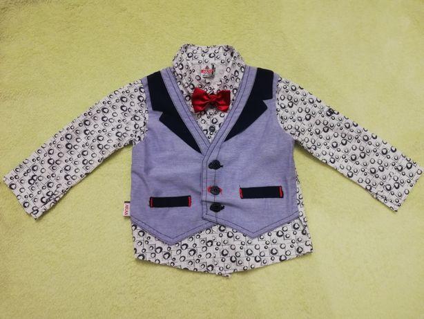 Ubranko koszulo-kamizelka