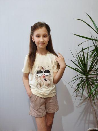 Детские футболки для девочек ( опт- розницу)