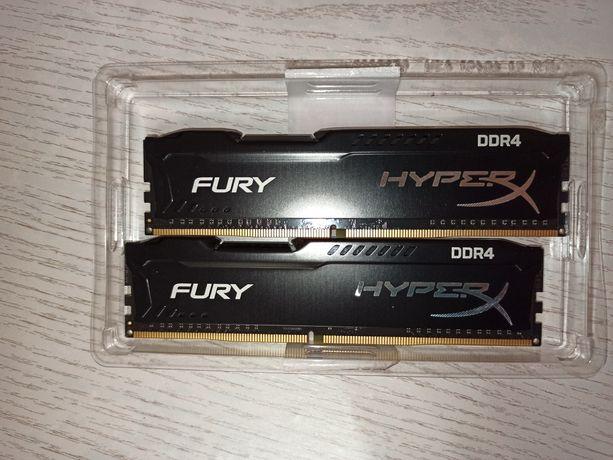 Оперативная память Fury HyperX DDR4 2 x 4 gb