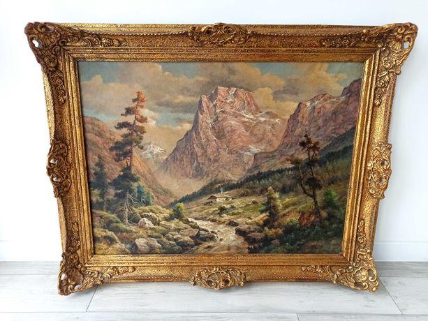 Старовинна картина на полотні, з Голландії. Картина маслом