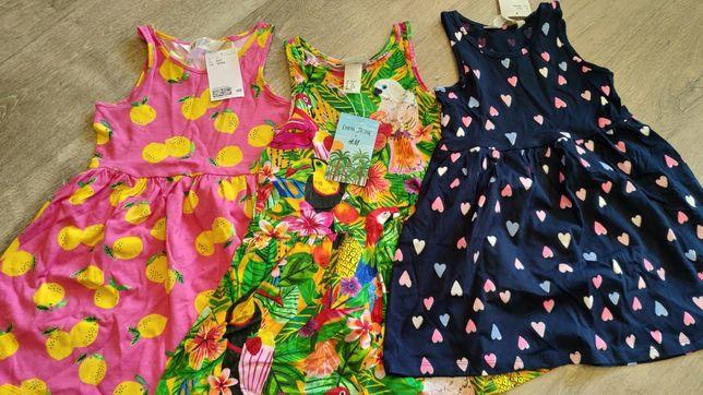 Платье НМ 2-4 года, 4-6 лет