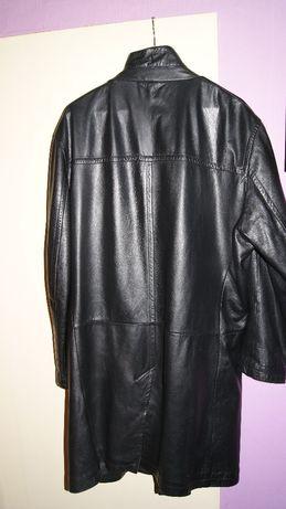 Płaszcz skórzany męski rozm.56