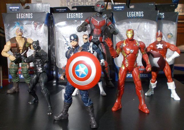 Marvel Legends - Build a Figure Giant-Man - Hasbro (Set Completo)
