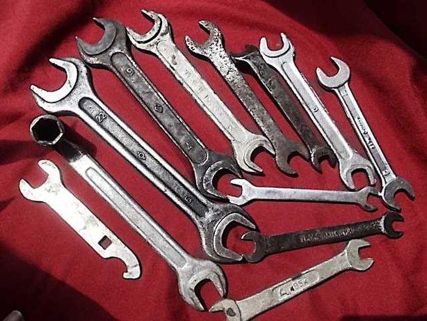 инструмент СССР ключи разные chrome- vanadium