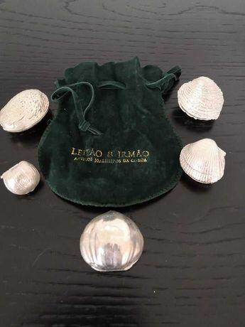 Relicários / Caixas de Prata Maciça (fabricação Leitão & Irmão)