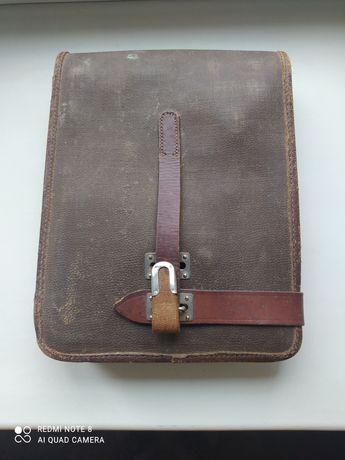 Советская офицерская полевая сумка-планшет