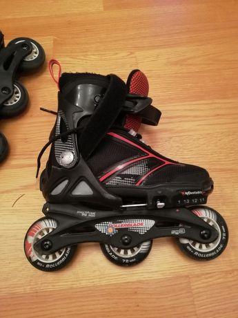 Rolki slalom dziecięce rollerblade spitfire regulowane