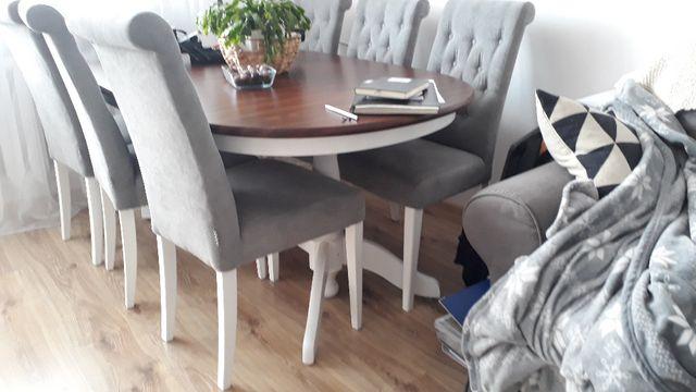 Stół IKEA LAISVIK owalny rozkładany