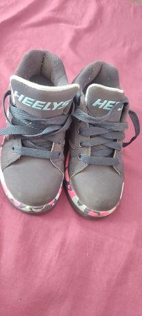 Роликовые кроссовки  heelys 32р