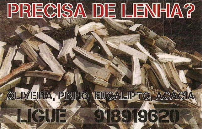 Lenha, Oliveira Pinheiro Acácia Eucalipto Carvalho