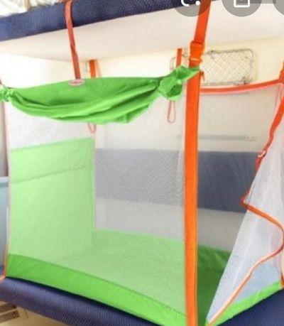 Зеленый манеж железнодорозный огнаничитель защита в  поезд