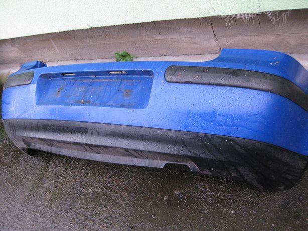 zderzak tylny - VW GOLF 4 - niebieski akryl