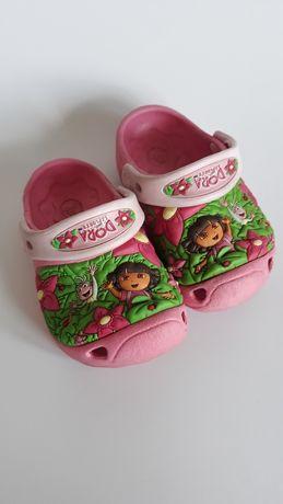 Crocs  Dora  19-20 sandały dziewczynki