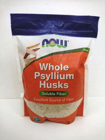 Псиллиум - цельная оболочка семян подорожника Now Foods, 454 г