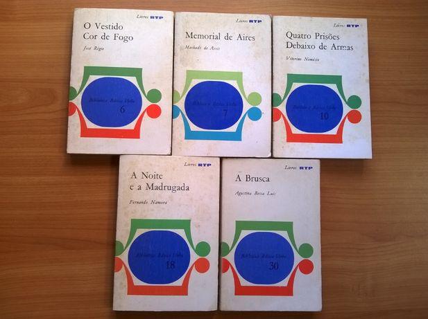 Livros RTP (3€ cada) - Autores Consagrados